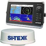 SI-TEX NavStar 10R GPS Chartplotter, Sonar, Radar System w-MDS-12 Radar and internal GPS Antenna [NAVSTAR 10R]