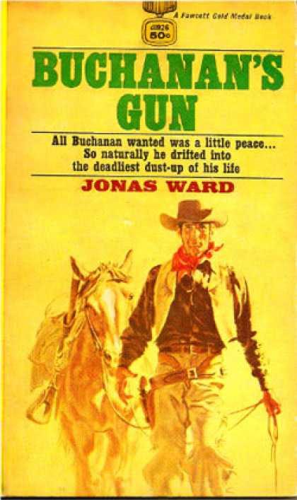 Gold Medal Books - Buchanans Gun - Jonas Ward