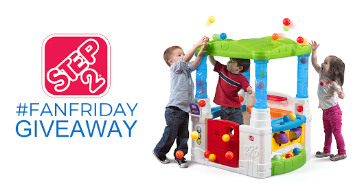 It's Step2 #FanFriday! Enter to win a #Step2 WonderBall Fun House before midnight EST tonight!