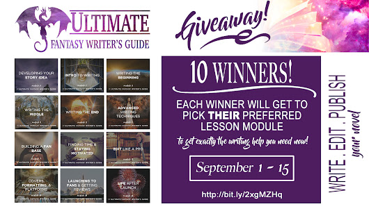 Enter the Ultimate Fantasy Writer's Guide Mega Giveaway! - Autumn Writing