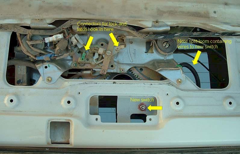 2gen 4runner Rear Window Internal Switch