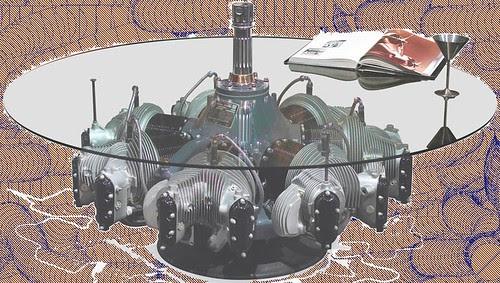 Mesa de Motor Radial