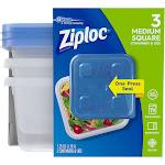 Ziploc Medium Square Containers - 3 count