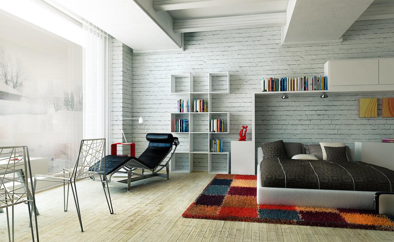 Home Garden Modern Colorful Bedrooms Interior Design Ideas