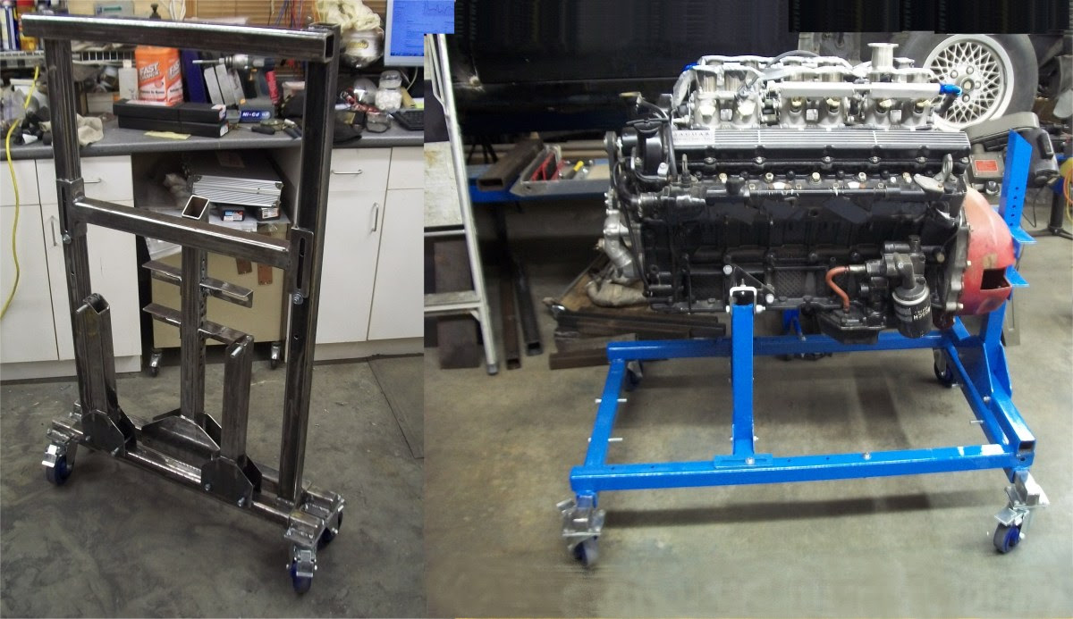 Engine Stand Tom Mackie Racing