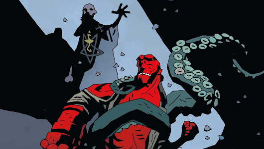 There's a Hellboy board game Kickstarter coming this year