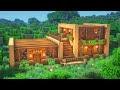 Minecraft: Como construir uma casa de madeira. Tutorial simples de casa de sobrevivência