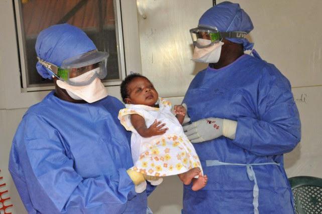 Noubia, le dernier patient connu atteintd'Ebola, a été... (PHOTO CELLOU BINANI, ARCHIVES AFP)