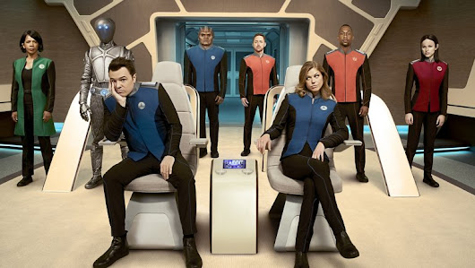 Star Trek is back...with The Orville | New Fangirled