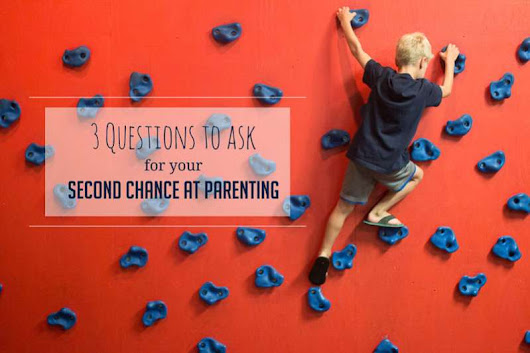 What would you do different if you had a second chance at parenting?