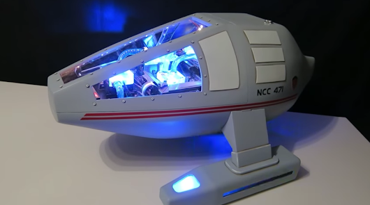 This 'Star Trek' Shuttle Computer Mod is Gorgeous