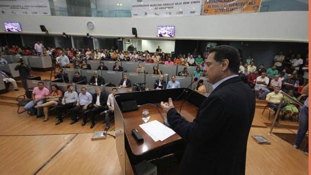 Em Manaus, Marconi fala do protagonismo de Goiás no ranking do crescimento nacional