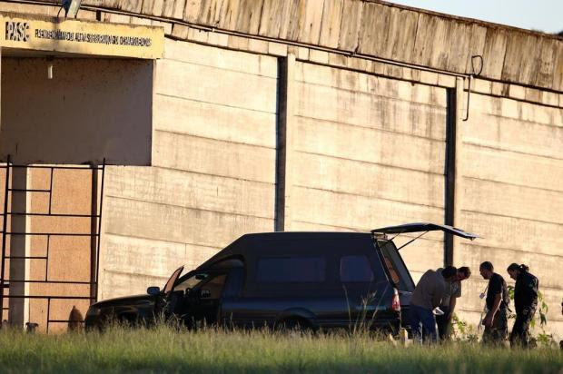 Imagens mostram momentos que antecedem a execução de Teréu Fernando Gomes/Agencia RBS