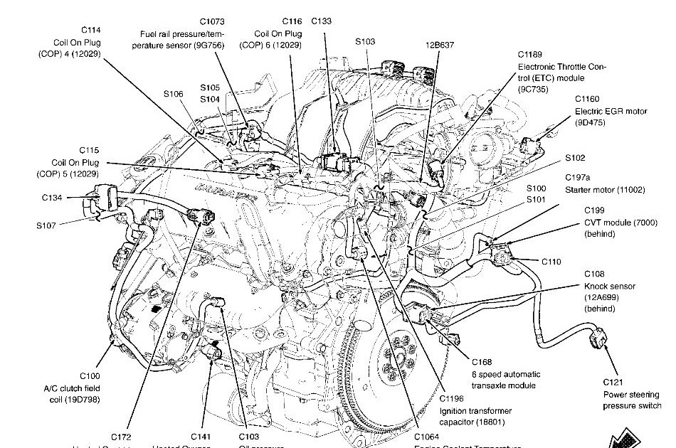 Ford 500 Engine Diagram