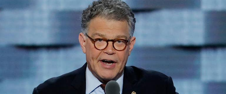 Franken will not resign, but 'embarrassed and ashamed' over sexual misconduct allegations