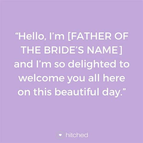 wedding speech introduction examples