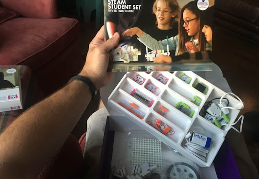 littleBits STEAM Student Set & littleBits STEAM teacher PD