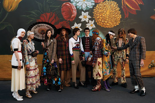 Behind the Scenes at Gucci's New Hub