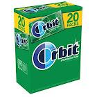 Orbit Gum, Sugarfree, Spearmint - 20 - 14 piece packages (280 pieces total)
