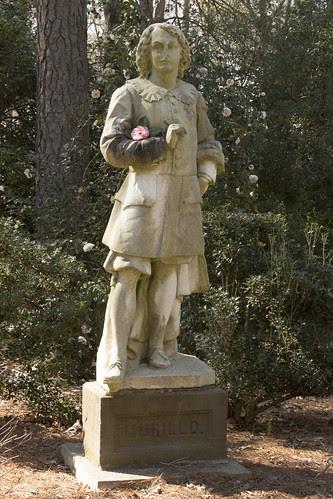 Statue of Bartolomé Esteban Murillo by bahayla