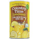 Country Time Drink Mix, Lemonade - 82.5 oz can