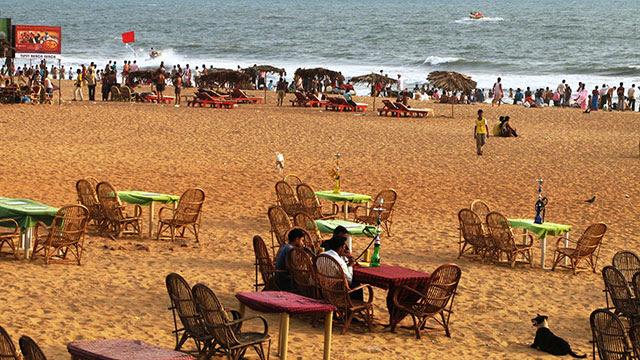 2. Calangute / Baga Beach