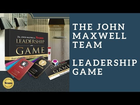 Increase your Potential with The John Maxwell Team Leadership Game