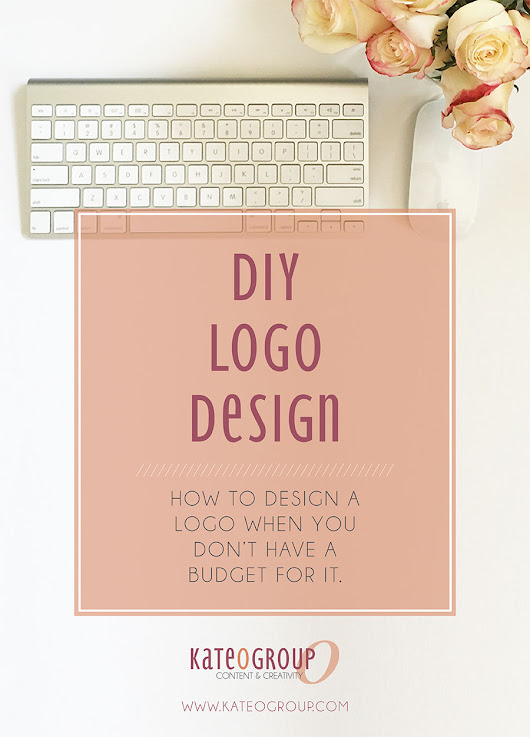 DIY Logo Design | Small Business Advice | KateOGroup