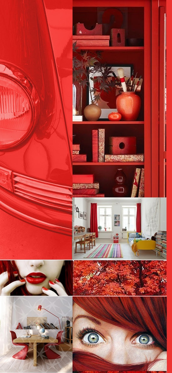 poppy red, red, rojo, color, tendencia