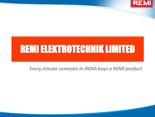 Remi Products application in Industrial, Laboratory and Clinical