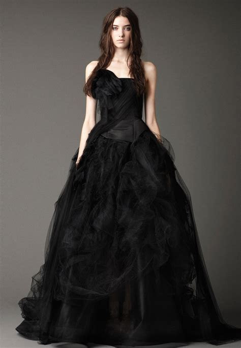 2015 Wedding Dress Trends : Black!   Fashion
