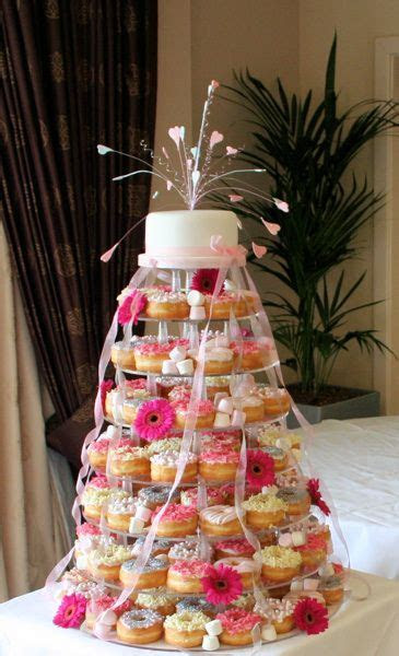 Donut wedding cake! I'm soooo suggesting this. Someone out