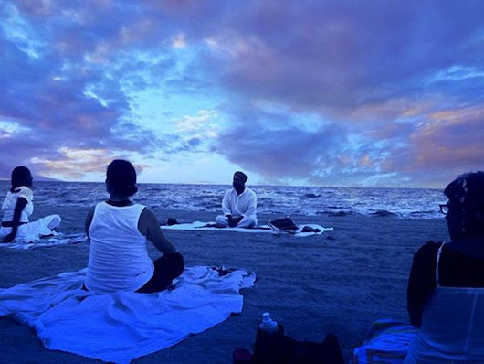 August 19th Full Moon Yoga & Meditation On Hollywood Beach