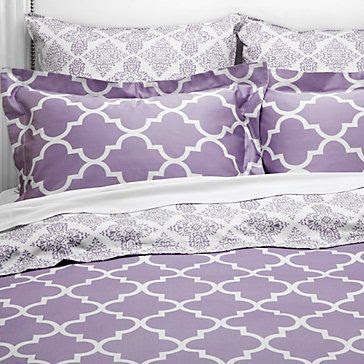 Z Gallerie Mimosa Reversible Bedding - Orchid