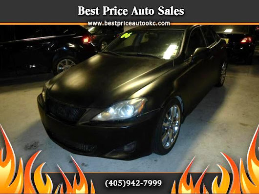 Used 2006 Lexus IS for Sale in Oklahoma City OK 73112 Best Price Auto Sales