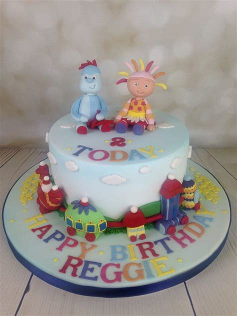 In the Night Garden Birthday Cake   Mel's Amazing Cakes