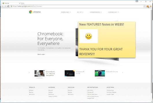 Note Board Chrome Extension Welcome