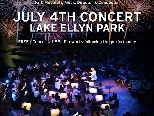 Glen Ellyn 4th of July Pre-Fireworks Philharmonic Orchestra Show Set for Lake Ellyn