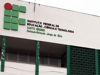 IFMT Cuiabá (Foto: Leandra Ribeiro/G1)