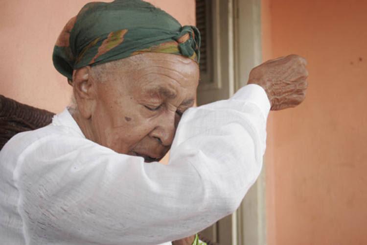 Dona Militana, a mais importante artista popular, faleceu este ano