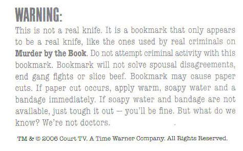 Cut-down-warning
