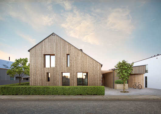 Honkarakenne Designs a Modern Eco-Home for Three Generations in Vantaa, Finland