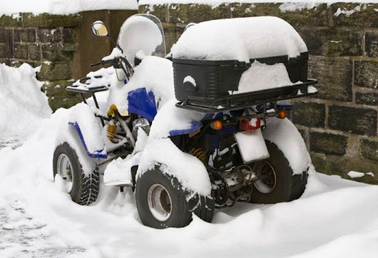 Winterize your ATV in 10 steps