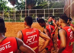 Operário FC, treinos (Foto: Derek Bueno)
