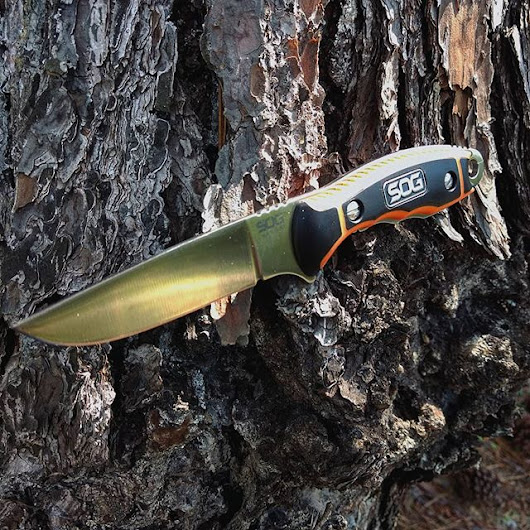 SOG Huntspoint boning knife HT021L-CP. The length and grip patterns of - SOG Knives blog