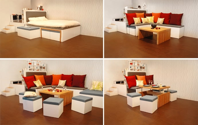 Matroshka Furniture - Compact Living Furniture Perfect for Small ...