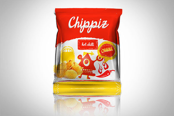 Chippiz Chips Packaging Design 2 30+ Crispy Potato Chips Packaging Design Ideas