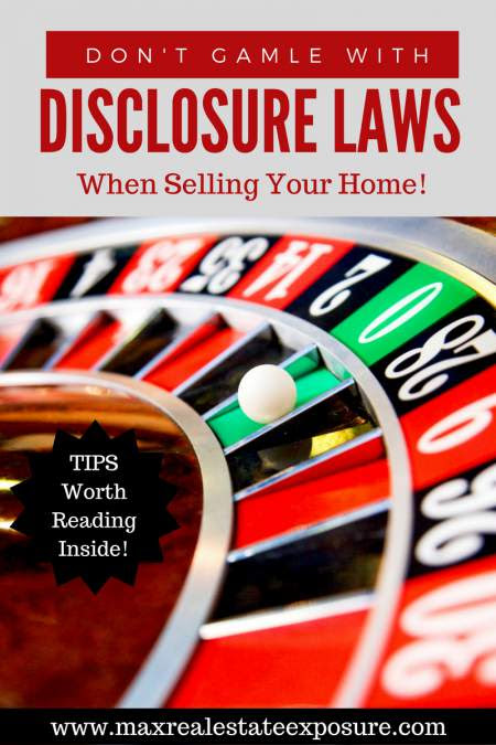 What Do You Have to Disclose When Selling a House