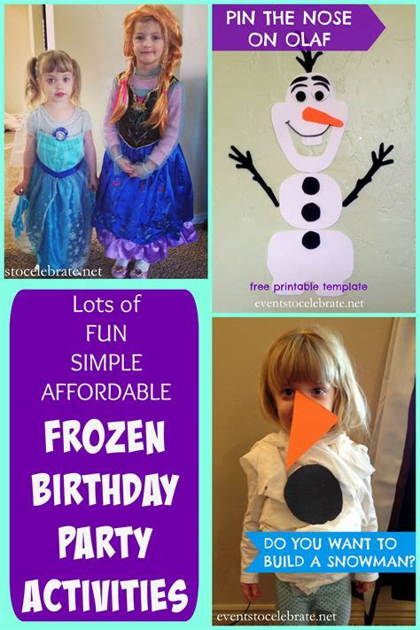 frozen party games Archives