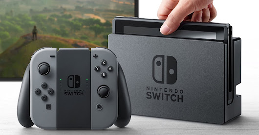 Nintendo Switch won't play Wii U discs and 3DS cartridges